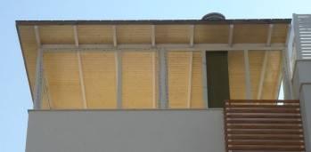 Techo terraza en PVC