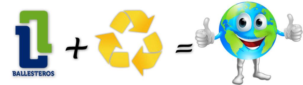 Retirada de residuos en Metalisteria Ballesteros